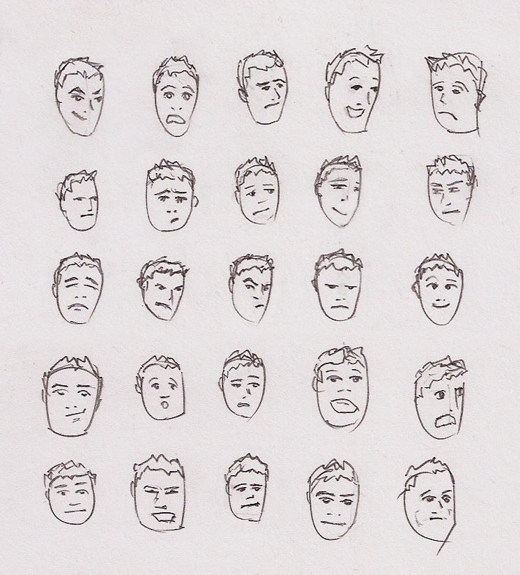 Drawing Facial Expressions Realistic