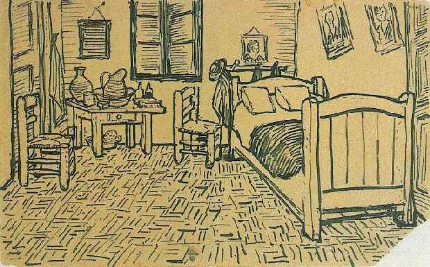 Picture11  Bedrooms  van Gogh    Myrtle Beach Art. The Bedroom Van Gogh Painting. Home Design Ideas